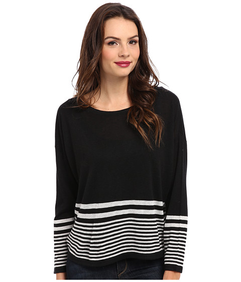 Soft Joie - Carter Top (Caviar/Heather Grey) Women's Sweater