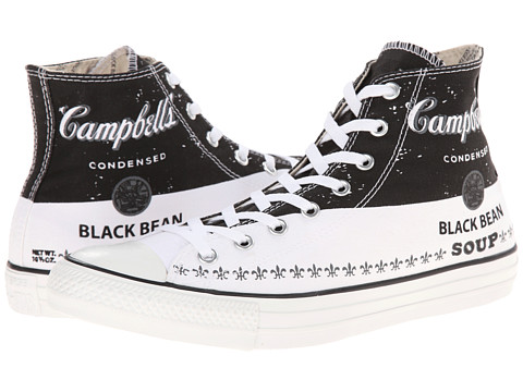 Converse - Chuck Taylor All Star Andy Warhol Hi (Converse Black/Converse White/Mason) Shoes