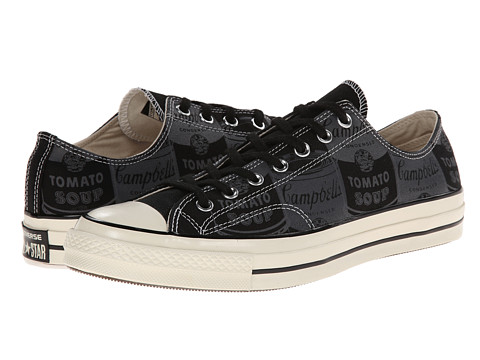 Converse - Chuck Taylor All Star '70 Andy Warhol Ox (Black/Natural/Egret) Athletic Shoes