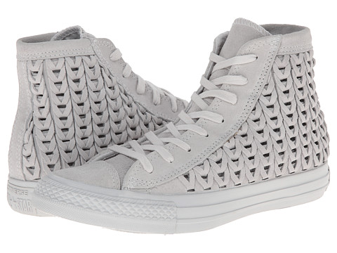 Converse - Chuck Taylor All Star Elevated Woven Hi (Powder) Women's Shoes