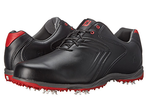 FootJoy - Hydrolite (Black/Red) Men's Golf Shoes