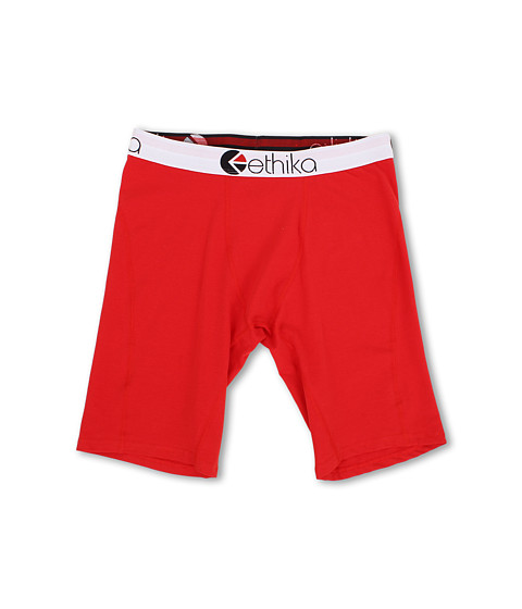 ethika - The Staple - Solids Boxer (Red) Men's Underwear
