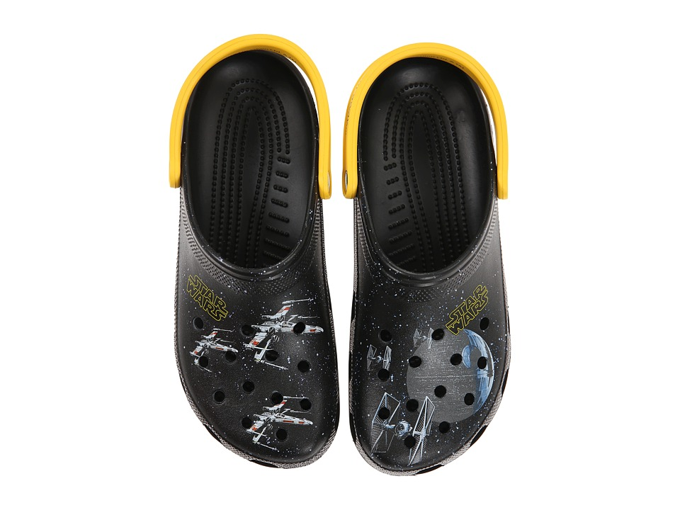 Crocs - Classic Star Wars Galaxy Clog (Black) Clog/Mule Shoes