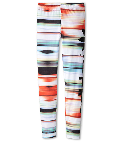 adidas Originals Kids - Concrete Jungle Leggings (Little Kids/Big Kids) (Multicolor/White) Girl's Casual Pants