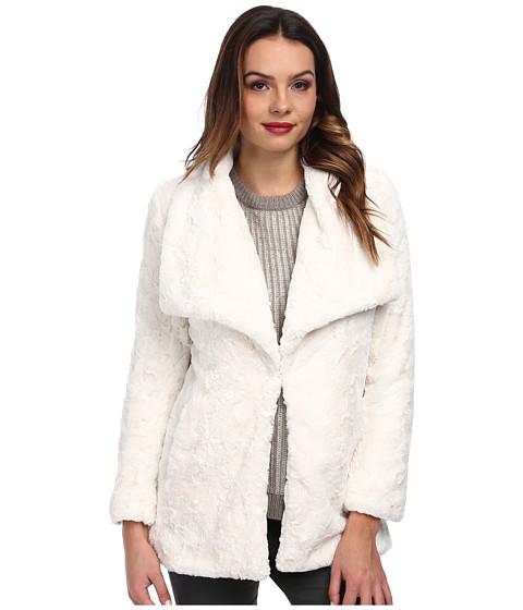 Karen Kane - Faux Fur Jacket (Cream) Women