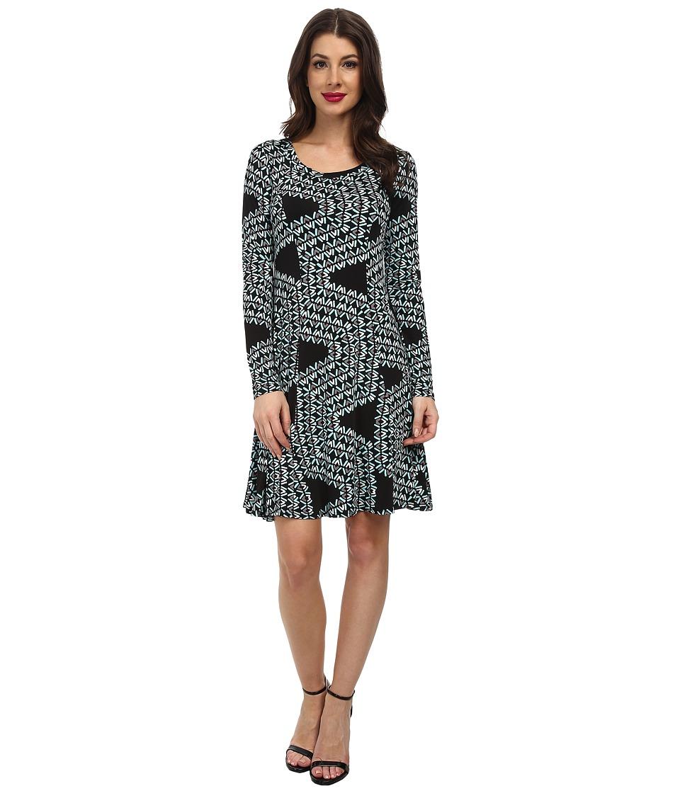 Karen Kane - Confetti Geo Dress (Print) Women
