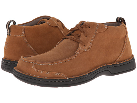 Streetcars - Check (Rust) Men's Lace Up Moc Toe Shoes
