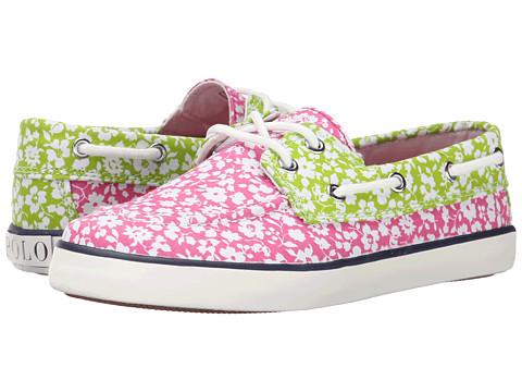 Polo Ralph Lauren Kids - Sander (Little Kid) (Pink Floral) Girls Shoes