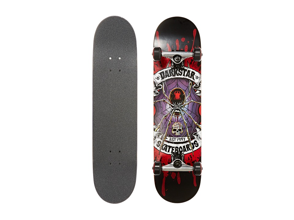 Darkstar - Widow Complete (Red/Purple) Skateboards Sports Equipment