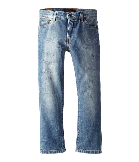 Dolce & Gabbana - Five-Pocket Jean (Toddler/Little Kids) (Blue) Men's Jeans