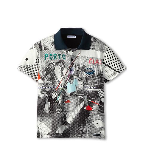 Dolce & Gabbana - Fishing Poles Print Tee (Toddler/Little Kids) (Multi) Men