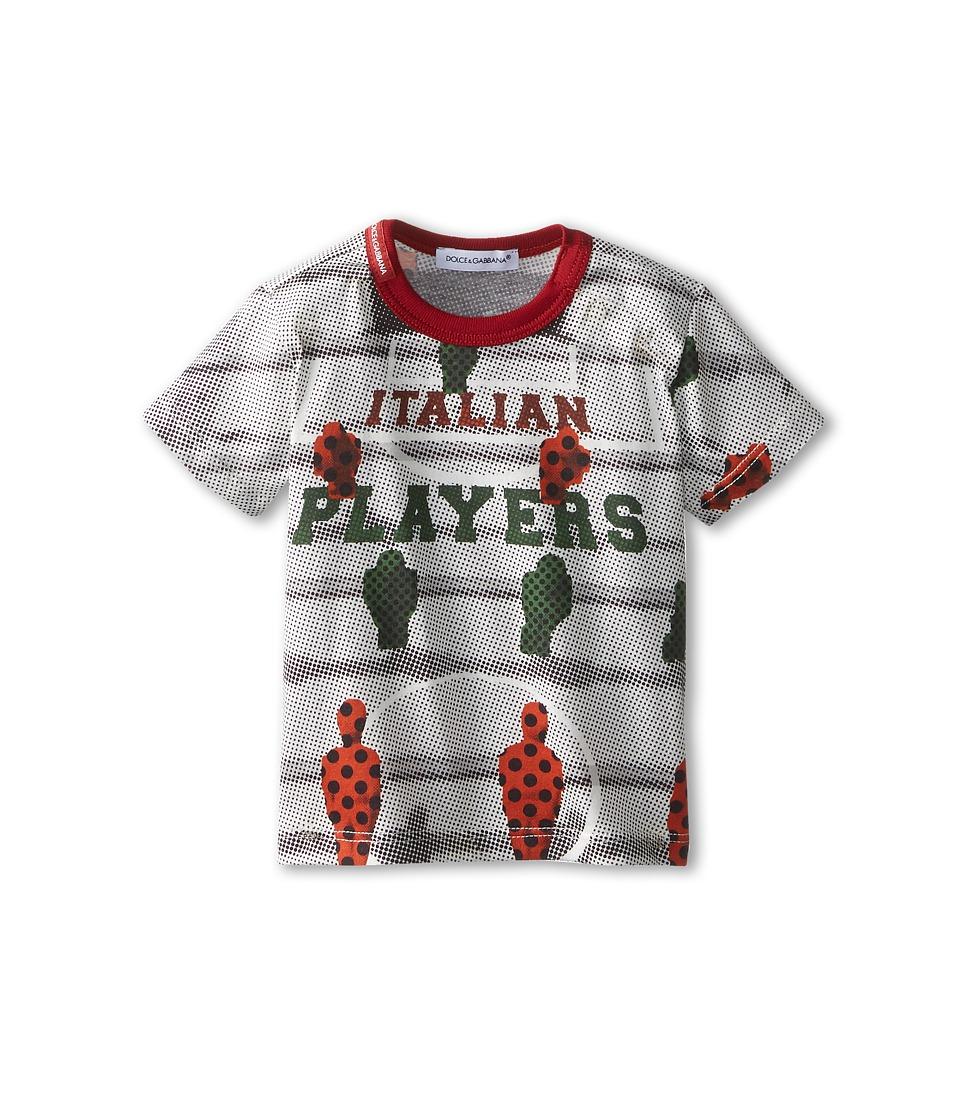 Dolce & Gabbana Kids Italian Player Tee Infant Multi Boys T Shirt