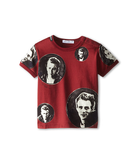 Dolce & Gabbana - James Dean Tee (Infant) (Red) Men's T Shirt