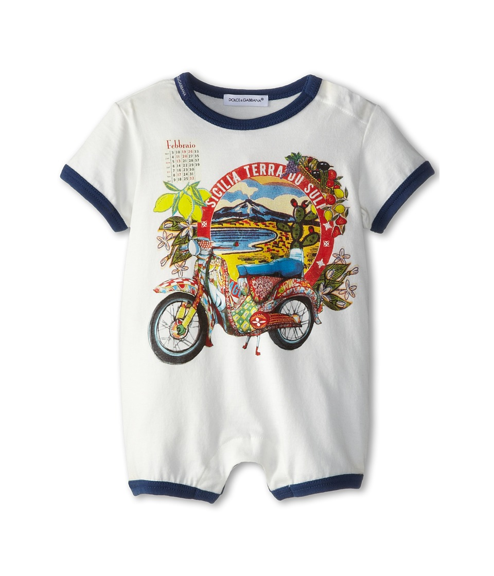 Dolce & Gabbana - Motorcycle One-Piece (Infant) (Multi) Men's Jumpsuit & Rompers One Piece