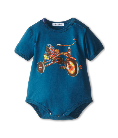 Dolce & Gabbana - Tricycle One-Piece (Infant) (Navy) Men's Jumpsuit & Rompers One Piece