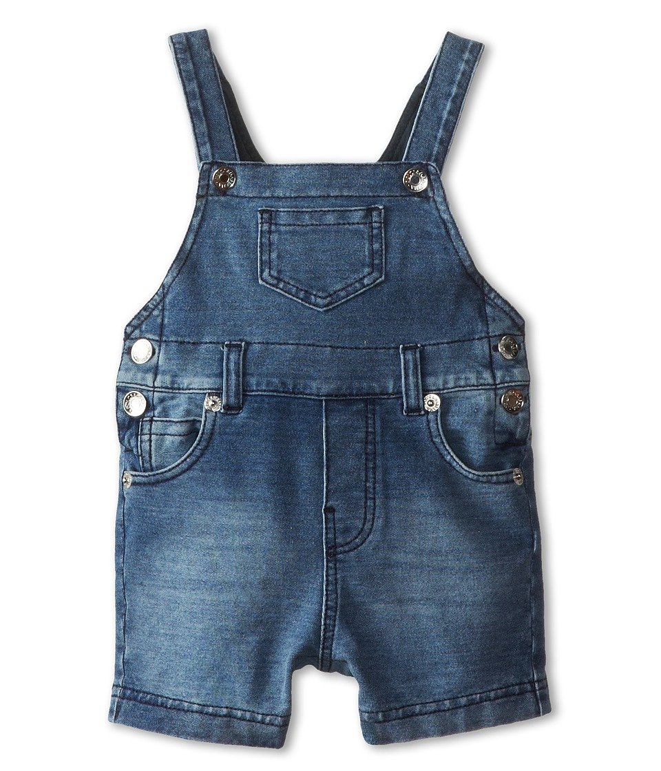 Dolce & Gabbana - Denim Short Overalls (Infant) (Blue) Men