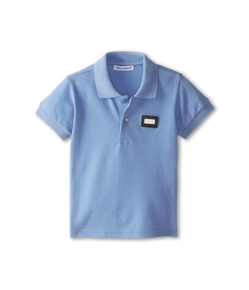Dolce & Gabbana - Logo Polo (Infant) (Sky) Men