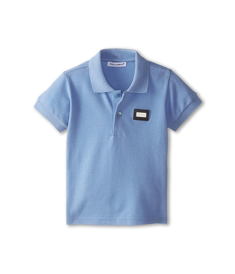 Dolce & Gabbana - Logo Polo (Infant) (Sky) Men