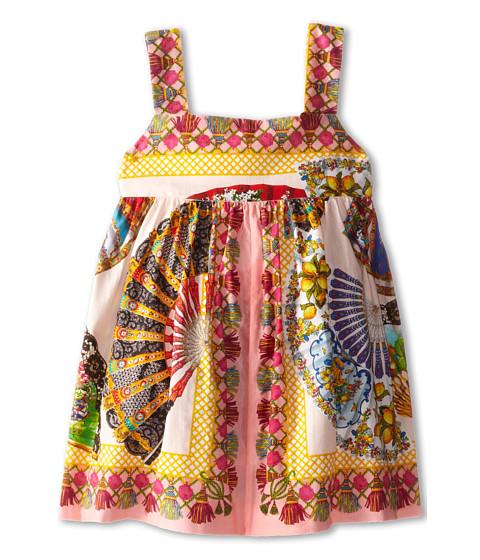 Dolce & Gabbana - Fan Print Two Piece Dress (Infant) (Multi) Women's Dress