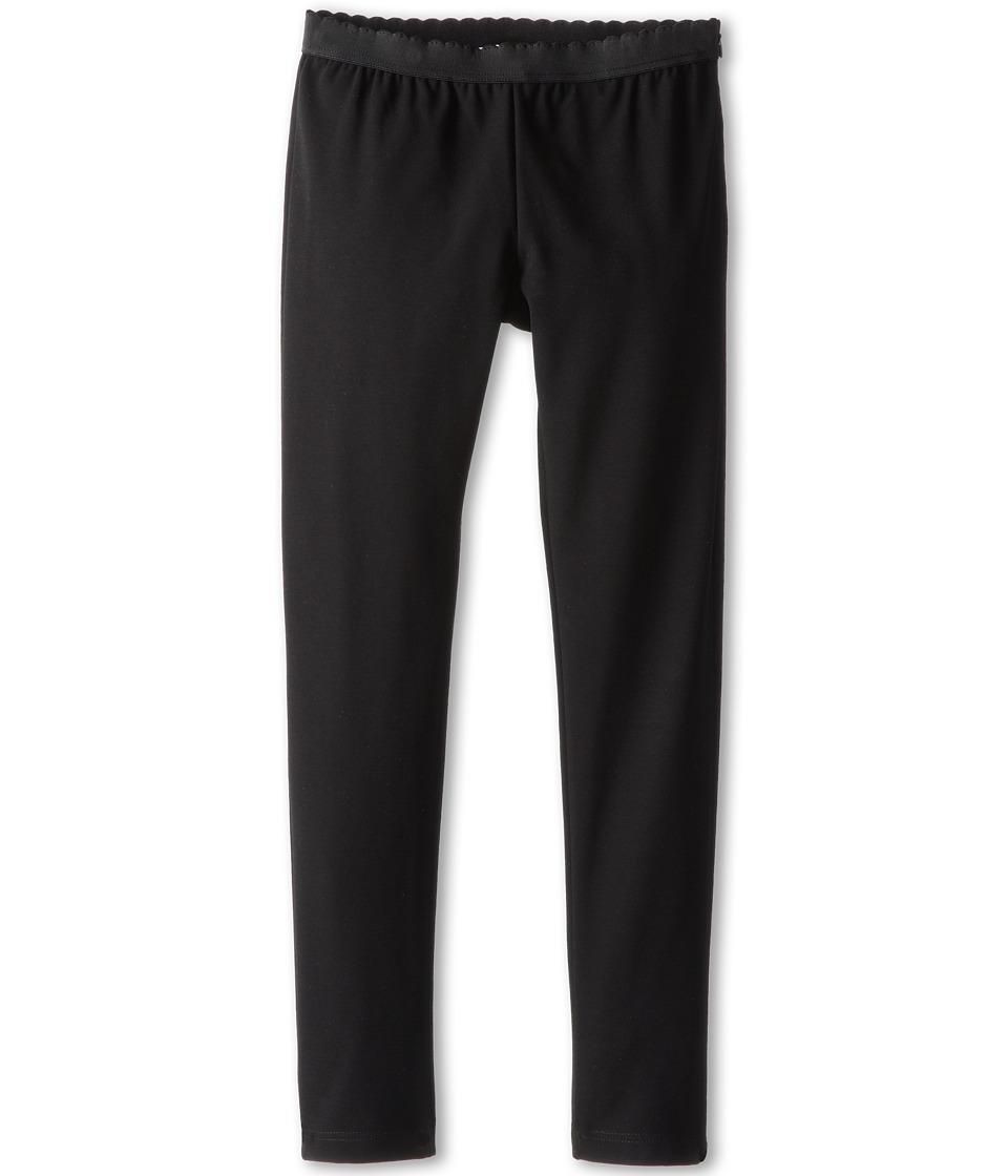 Dolce & Gabbana - Jersey Legging (Big Kids) (Black) Women