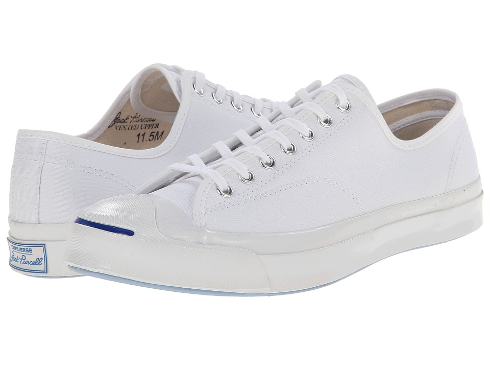 Converse - Jack Purcell Signature Ox (White) Shoes