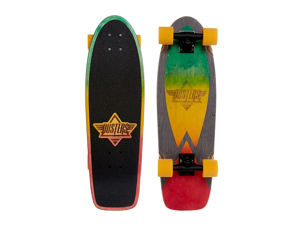Dusters - Cazh (Rasta) Skateboards Sports Equipment