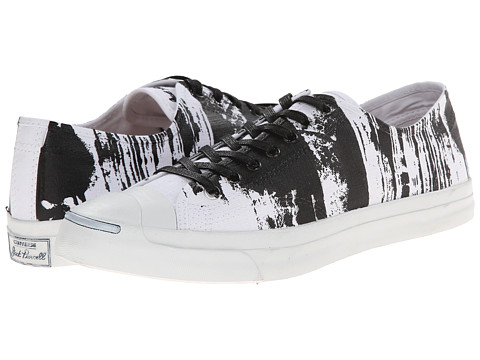 Converse - Jack Purcell Jack Ox (White/Black) Athletic Shoes