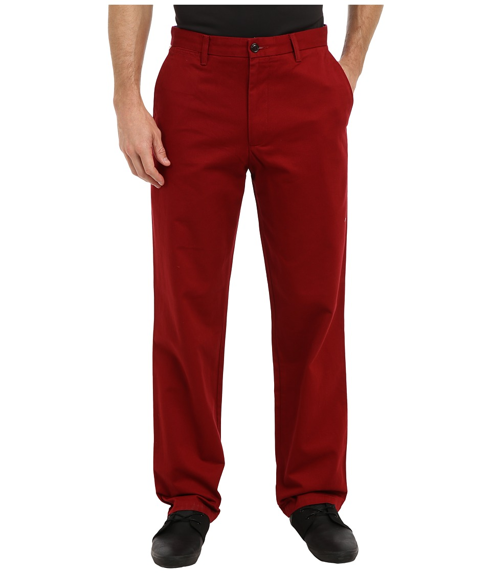 Dockers Men's - Game Day Khaki D3 Classic Fit Flat Front Pant (Boston College - Team Color) Men's Casual Pants