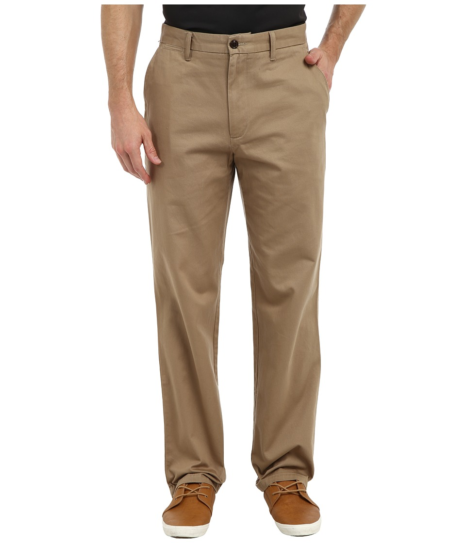 Dockers Men's - Game Day Khaki D3 Classic Fit Flat Front Pant (Auburn - New British Khaki) Men's Casual Pants