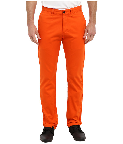 Dockers Men's - Game Day Alpha Khaki Slim Tape Red Flat Front Pant (Miami - Team Color) Men's Casual Pants