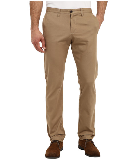 Dockers Men's - Game Day Alpha Khaki Slim Tape Red Flat Front Pant (Texas Tech - New British Khaki) Men's Casual Pants