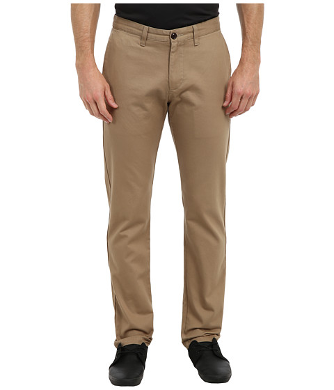 Dockers Men's - Game Day Alpha Khaki Slim Tape Red Flat Front Pant (Pittsburgh - New British Khaki) Men's Casual Pants