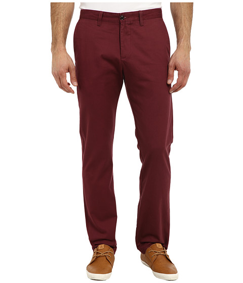 Dockers Men's - Game Day Alpha Khaki Slim Tape Red Flat Front Pant (Virginia Tech - Team Color) Men's Casual Pants