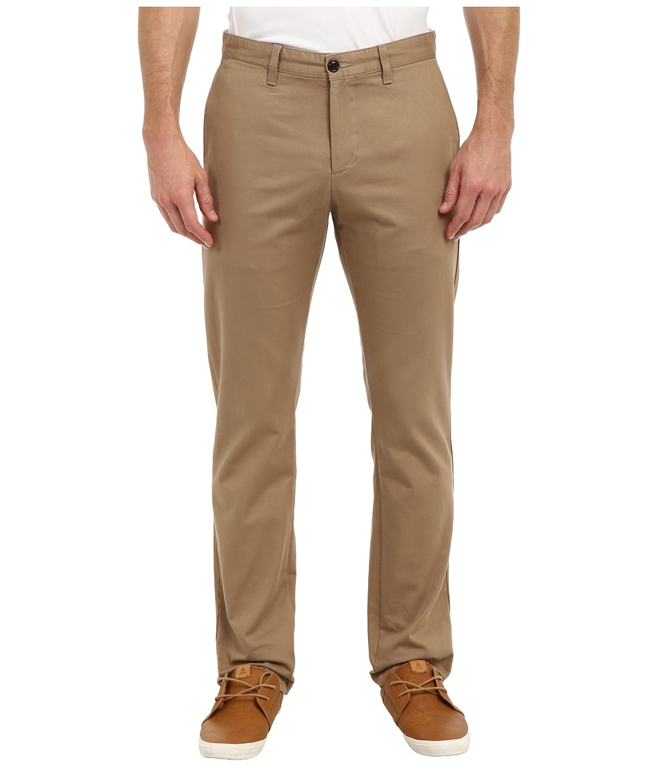 Dockers Men's - Game Day Alpha Khaki Slim Tape Red Flat Front Pant (Virginia Tech - New British Khaki) Men's Casual Pants