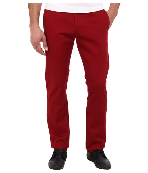 Dockers Men's - Game Day Alpha Khaki Slim Tape Red Flat Front Pant (South Carolina - Team Color) Men's Casual Pants