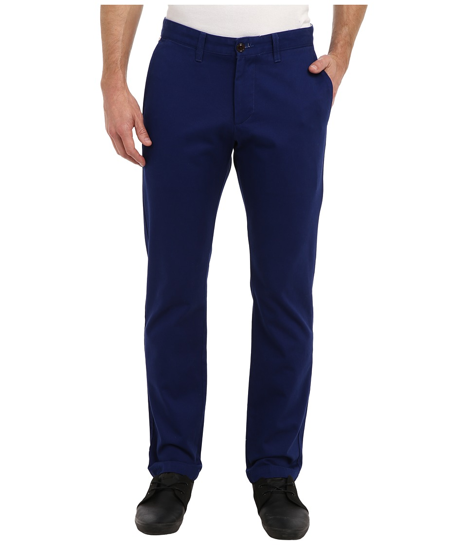 Dockers Men's - Game Day Alpha Khaki Slim Tape Red Flat Front Pant (Brigham Young (BYU) - Team Color) Men's Casual Pants