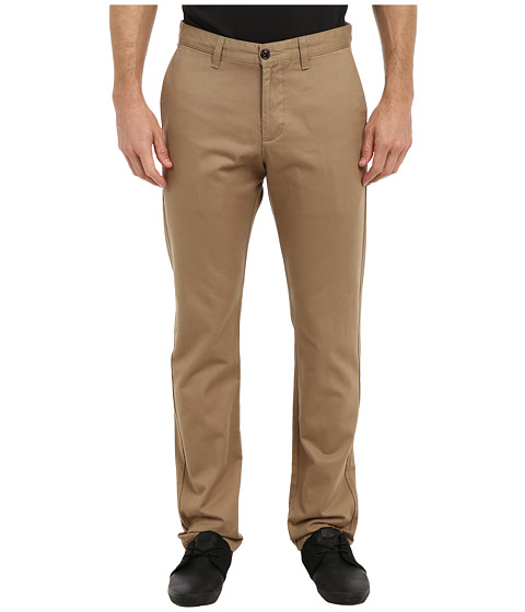 Dockers Men's - Game Day Alpha Khaki Slim Tape Red Flat Front Pant (South Carolina - New British Khaki) Men's Casual Pants