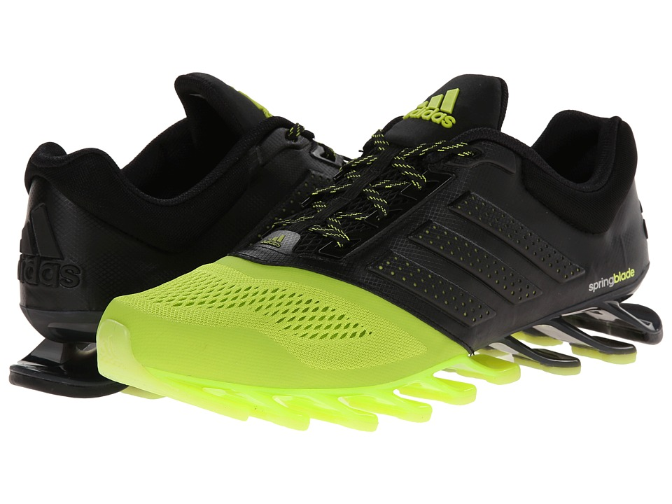 adidas Running - Springblade Split M (Semi Solar Yellow/Black/Silver Metallic) Men's Running Shoes