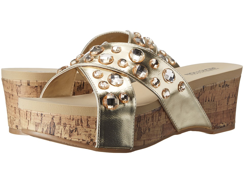 Kenneth Cole Reaction - Step Inside 2 (Champagne) Women's Sandals