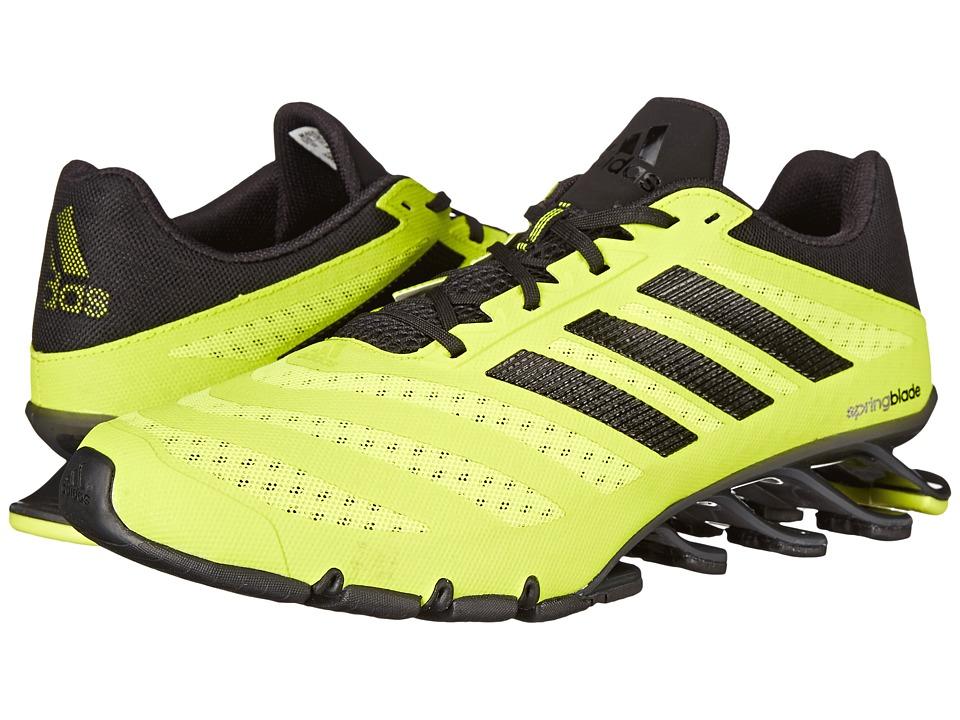 adidas Running - Springblade Ignite (Semi Solar Yellow/Black/Iron Metallic) Men