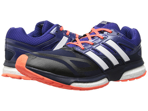 adidas Running - Response Boost Techfit (Collegiate Navy/Amazon Purple/Solar Red) Men