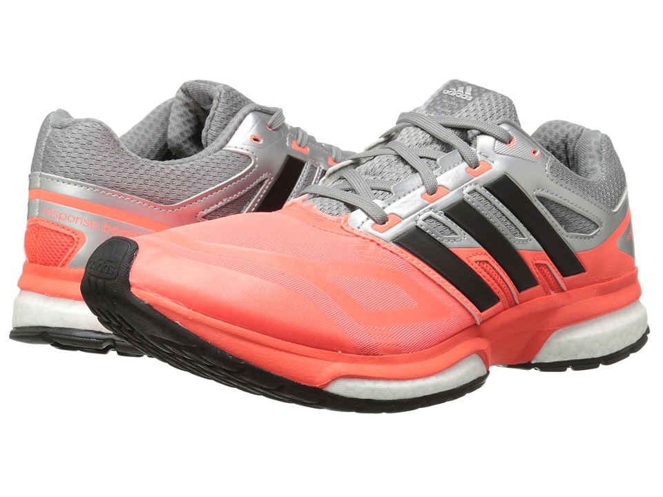 adidas Running - Response Boost Techfit (Solar Red/Black/CH Solid Grey) Men