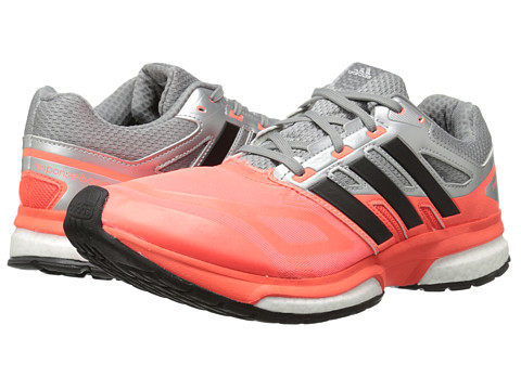 adidas Running - Response Boost Techfit (Solar Red/Black/CH Solid Grey) Men's Running Shoes