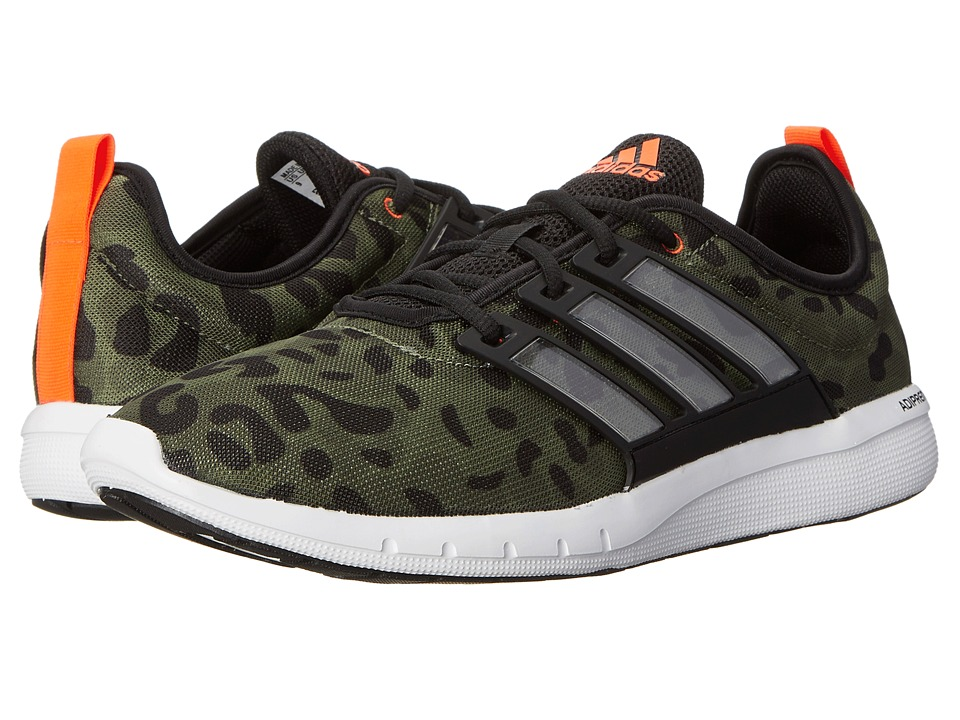 adidas - CC Leap (Base Green/Black/White) Men's Running Shoes