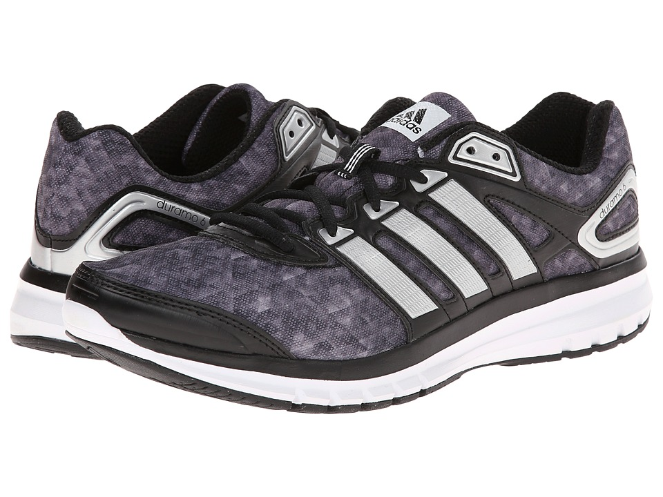 adidas Running - Duramo 6 M (Black/Silver Metallic/White) Men