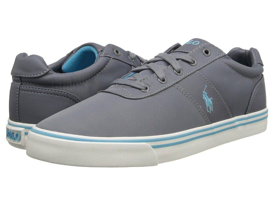 Polo Ralph Lauren - Hanford (Grey Tech Nylon) Men's Lace up casual Shoes