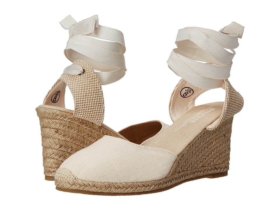 Soludos - Tall Wedge (Blush) Women's Shoes