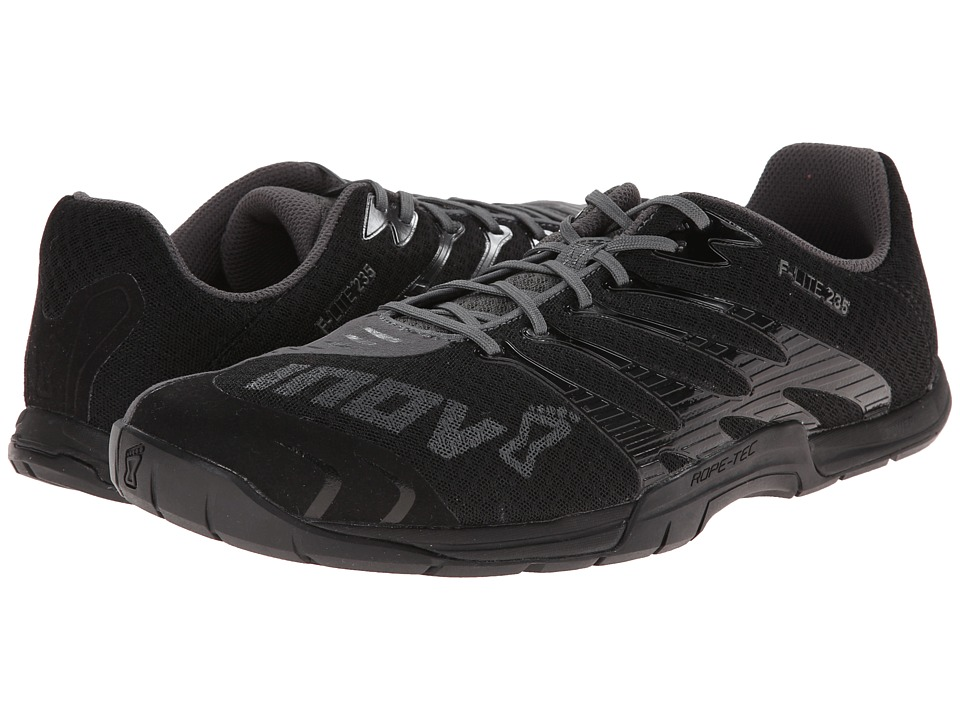 inov-8 - F-Lite 235 (Black/Grey) Men's Running Shoes