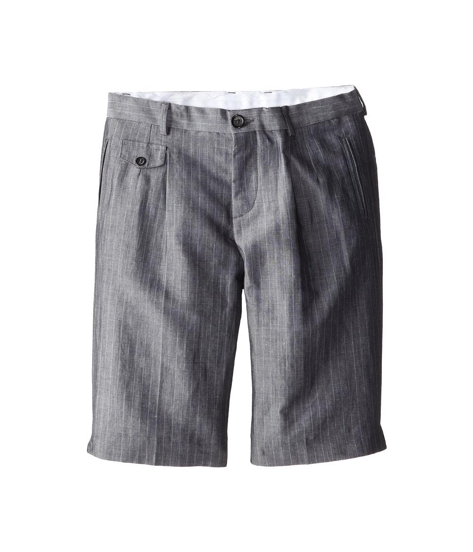 Dolce & Gabbana Kids - Linen Shorts (Big Kids) (Multi) Boy's Shorts