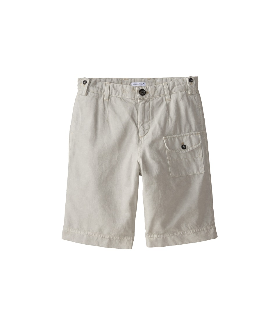 Dolce & Gabbana - Cargo Short (Big Kids) (Grey) Men's Shorts